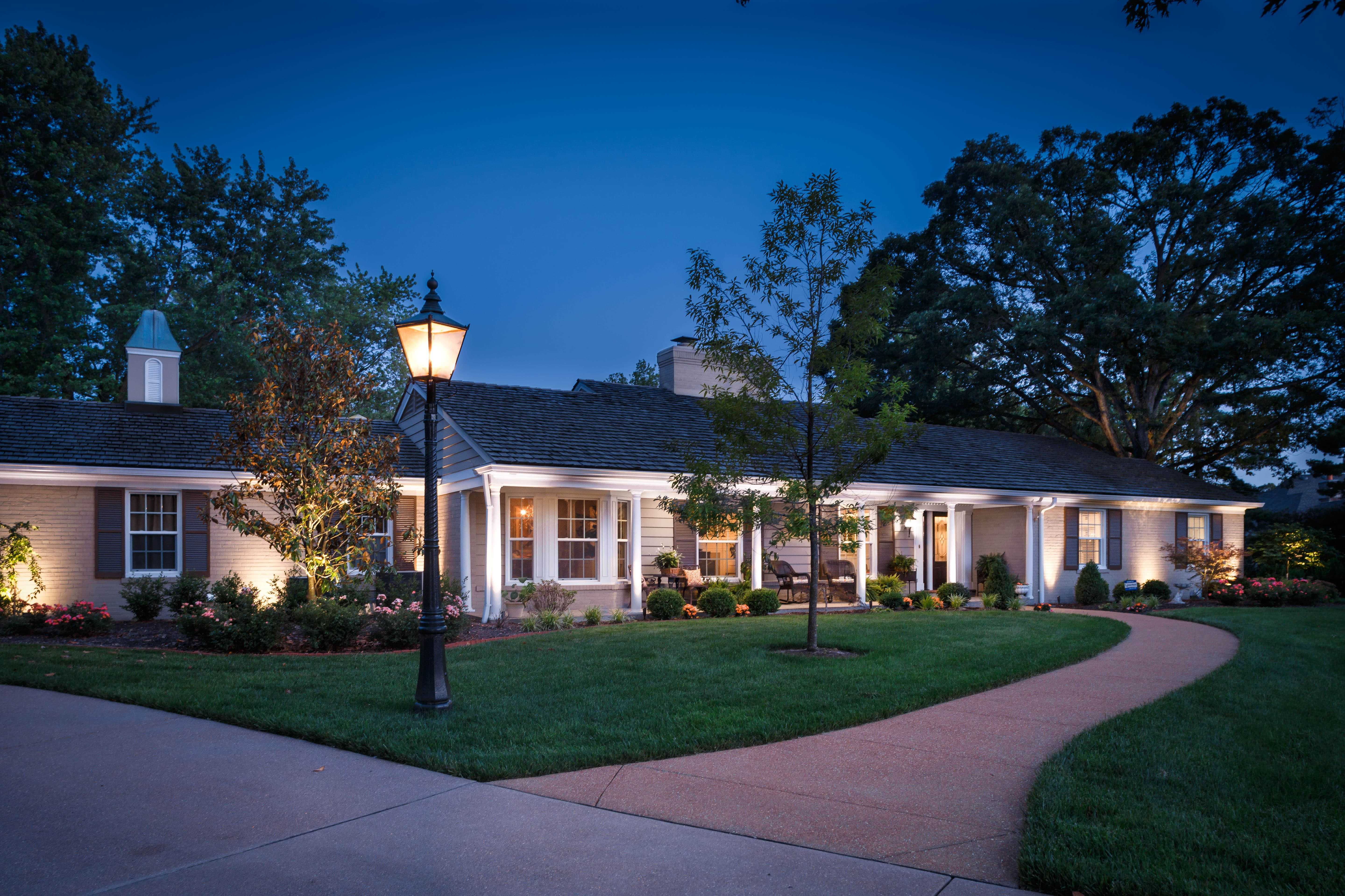 Residential Outdoor Lighting St. Louis
